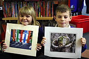 Prize-winning Art and Photography by Wincanton Primary Pupils