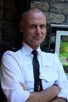 PC Andy Brown, Beat Manager for Wincanton