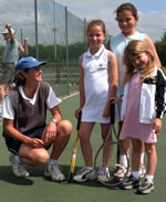 Junior Tennis Coaching - sign up now to secure your place!
