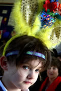 Easter Bonnets on Parade at Wincanton Primary