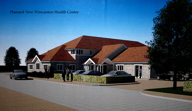 Artists rendition of the new health centre