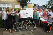 Cycle Marathon Ends in Wincanton