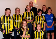 Wincanton Girls Football Win Fair Play Award