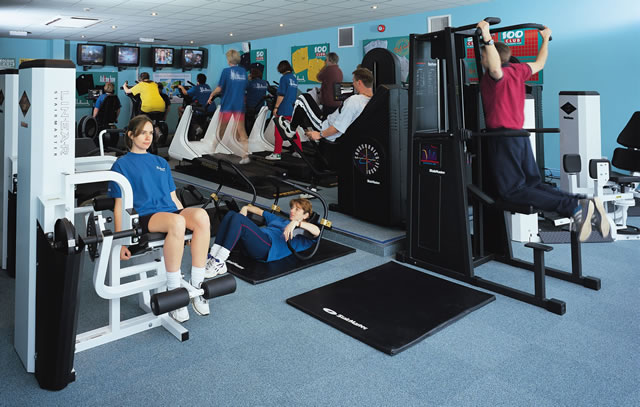 The comprehensive gym at Holbrook House
