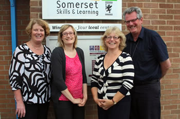 The Somerset Skills & Learning Team