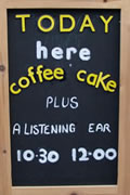 Coffee, Cake and a Listening Ear