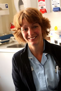 Claire Wittan, Emergency Clinical Nurse Practitioner