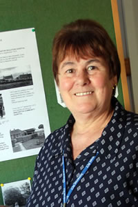 Marilyn Hawkins, Hospital Secretary and Historian