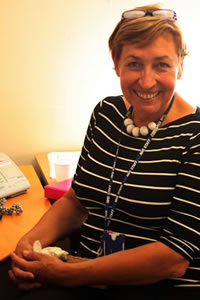 Angela Wilson, Stroke Co-ordinator