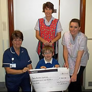 Ruby Wedding Anniversary Raises Children's Ward Funds