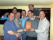 Well Done to The Greenway Gang - Our 2010 Quiz Champions!