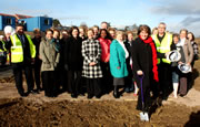 The Die is Cast and the Turf is Cut - New Health Centre