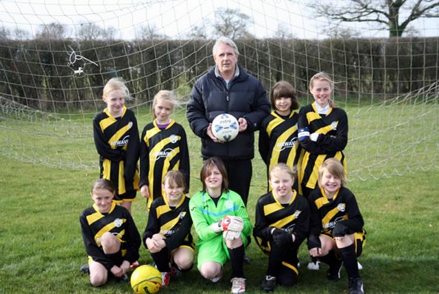 Girl S New Football Kit