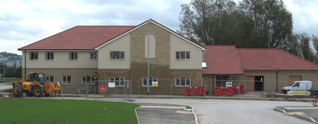 The new Wincanton Health Centre, on the New Barns estate