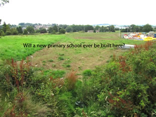 New Primary School and children's playground? Probably not.