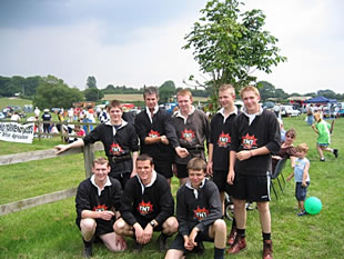 Young Farmers' Tug of War team