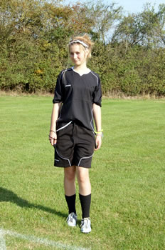 Ellie Farrell, future Premiereship Referee