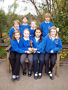 Horsington Primary School golf students