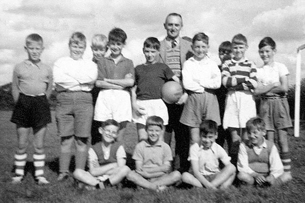 Horsington and South Cheriton Football team 1960
