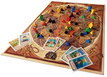 Discworld - Ankh Morpork board game in action