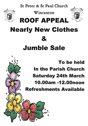 Nearly New Clothes & Jumble Sale poster