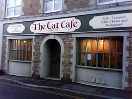 The Cat Cafe, 2 South Street, Wincanton