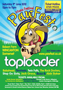 """Dance in the Moonlight"" with Toploader at PawFest 2012"