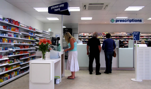 Inside the new Wincanton Boots pharmacy