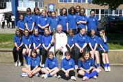 King Arthur's School Mentor Relays Olympic Torch