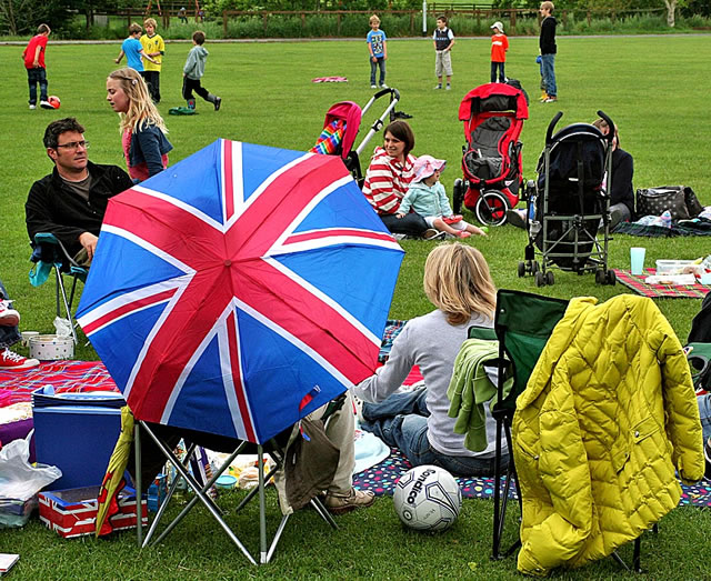 Wincanton Jubilee Picnic in the Park