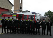 A Special Ceremony and a Jubilee Medal for Wincanton's Fire-fighters