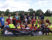 Wincanton Town Youth FC Holds First Ever Soccer School