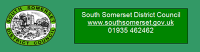 South Somerset District Council logo and contact details