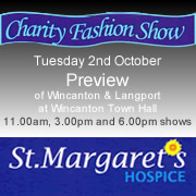 Preview Charity Fashion Show at Wincanton Town Hall