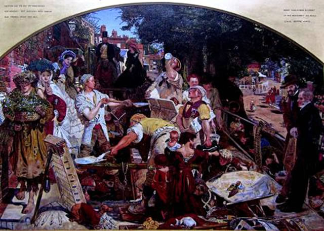 Work by Ford Maddox Brown