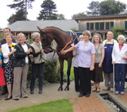 Wincanton Takes Horseracing to St Margaret's Hospice