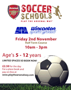 Arsenal Soccer Schools at Wincanton Sports Ground