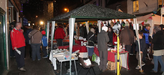Wincanton High Street bustling with activity last year