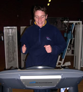 Celebrity Jockey Eagerly Awaits New Equipment at Sports Centre