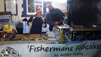Fishcakes by Jurassic Fishing, Anonymous Travelling Market