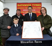 Injured Jockeys Fund & Children in Need Benefit from Local Race-goer