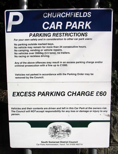 wincanton resident is astonished by car park parking fine