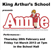 Annie Comes to Town!