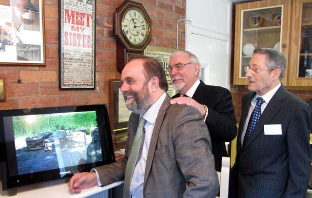 David Heath MP, Frank Foster and John Atkins