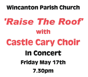 Raise The Roof - A Concert to Aid Wincanton Parish Church