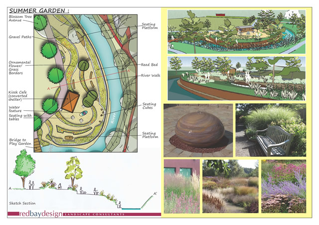 Cale Park Presentation Sheet - Summer Garden