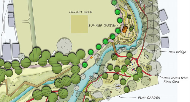 Cale Park master plan document - click to get a larger view