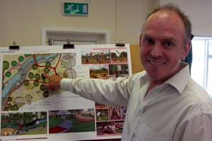 Landscape Architect, Nick Perrett