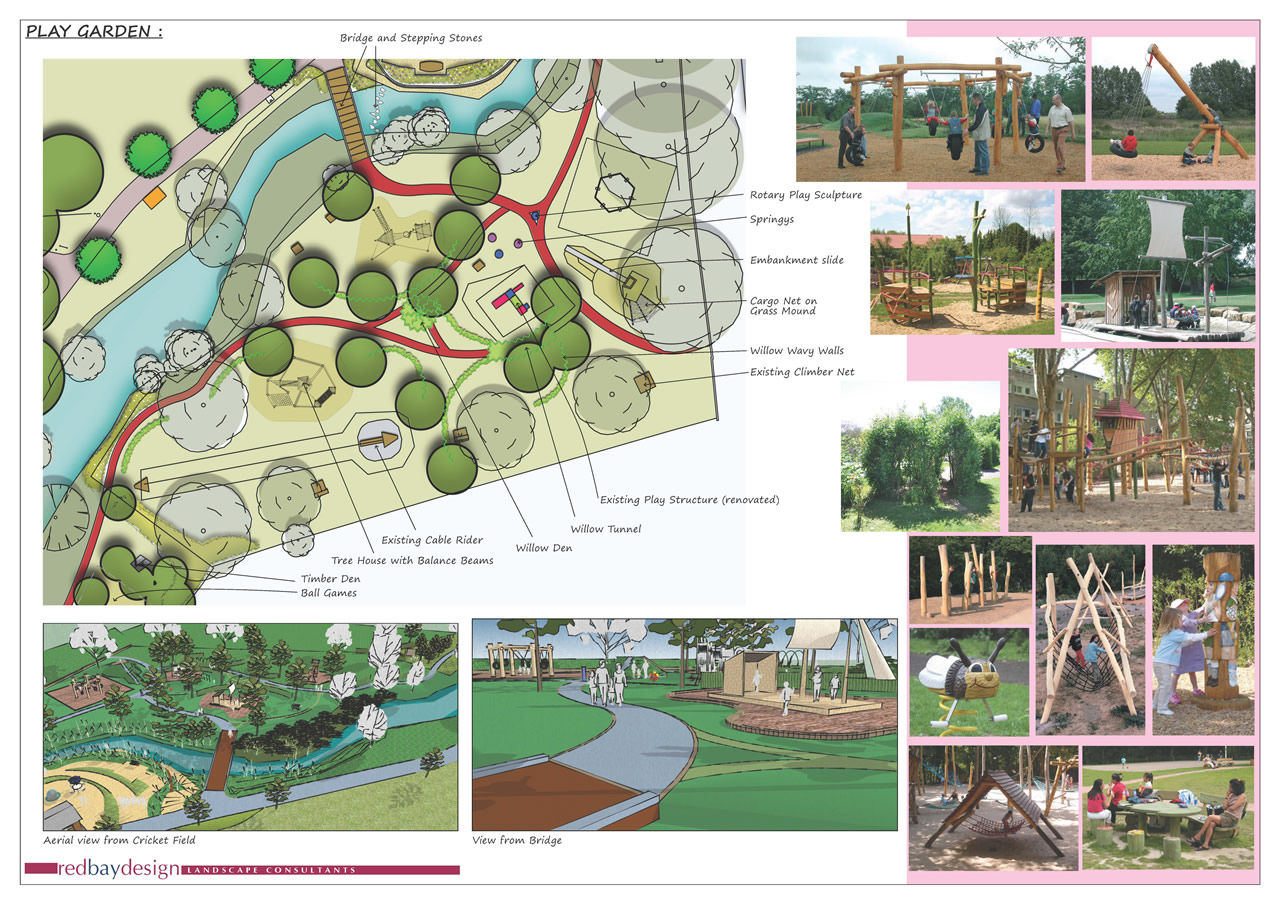 Plans to transform wincanton recreation ground public spaces for Landscape design sheets