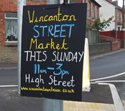 First Wincanton Street Market This Sunday